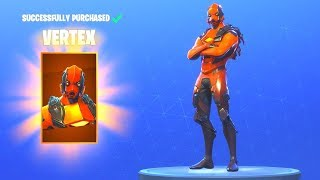 Fortnite - Achat de la peau De New Vertex, Razar Edge et Forerunner (Full Apex Protocol Set)