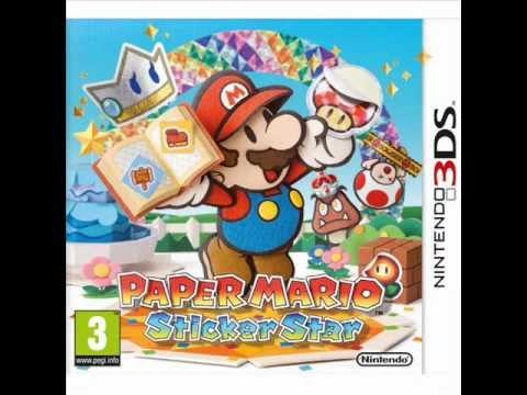 Paper Mario Sticker Star Music - Title Theme