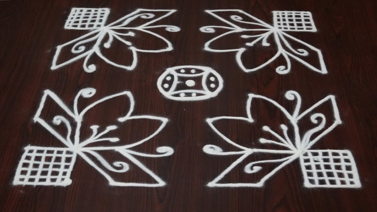 Rangoli Designs Small And Easy Rangoli Designs With