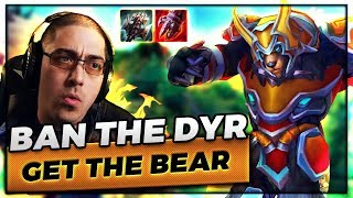 BAN THE DYR, GET THE BEAR! | THEY PICKED RAKAN TOPLANE?!?! - Trick2G