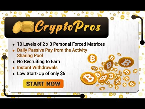 Crypto Pros Intro – Promote all your Crypto Programs here!