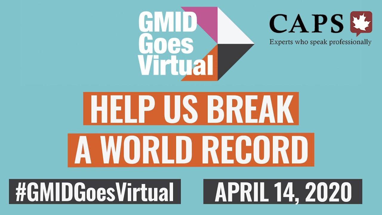 CAPS Helps #GMIDgoesvirtual April 14, 2020