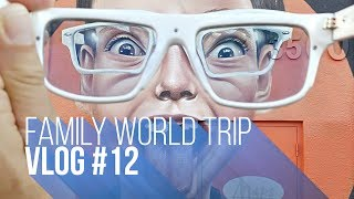 FAMILY WORLD TRIP VLOG#12 | BEST CITY GRAFFITI?
