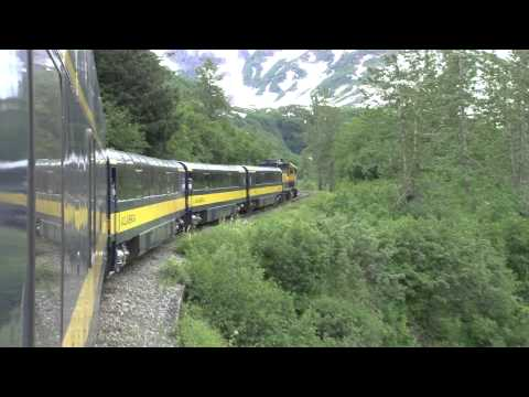 Alaska   Anchorage to Seward Train