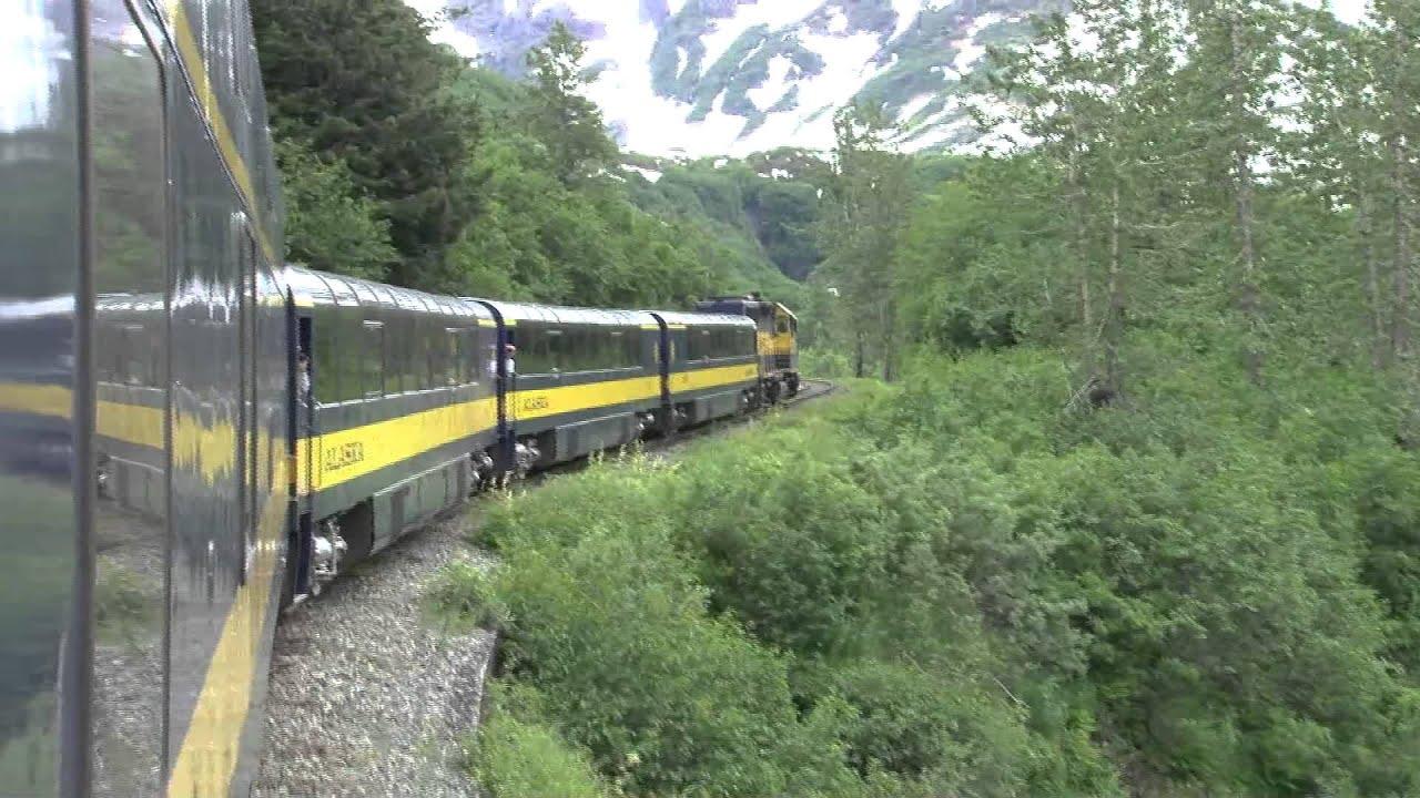 Alaska Anchorage To Seward Train Youtube