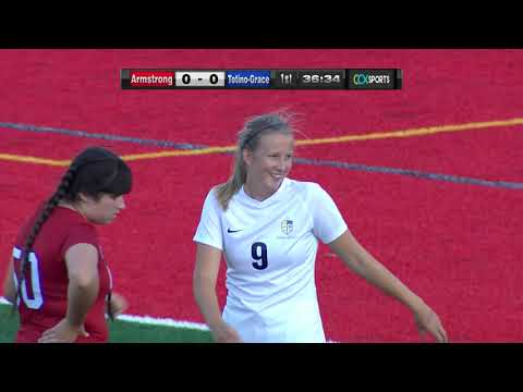 Totino-Grace Vs. Armstrong Girls High School Soccer