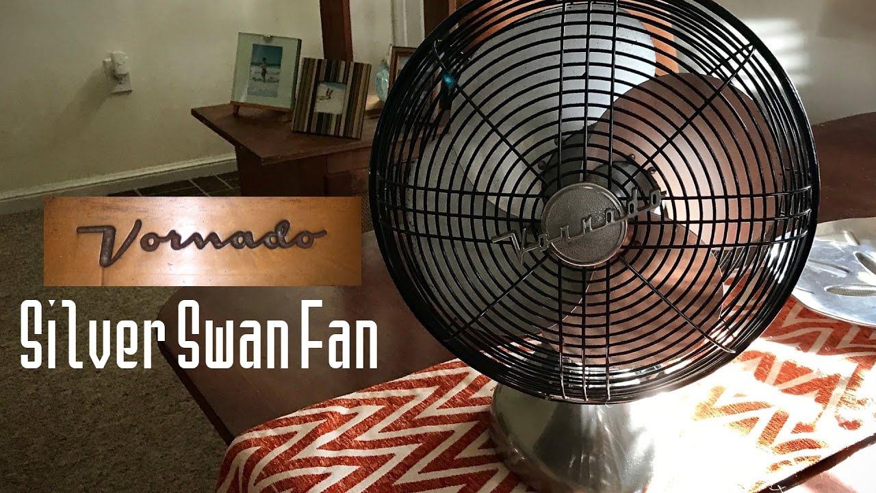 Vornado Silver Swan Fan Youtube