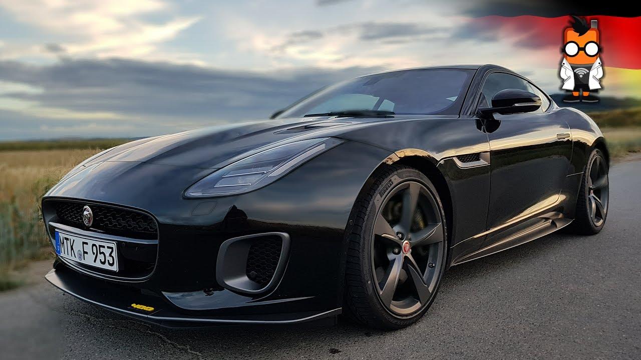 jaguar f type 400 sport fahrtest youtube. Black Bedroom Furniture Sets. Home Design Ideas