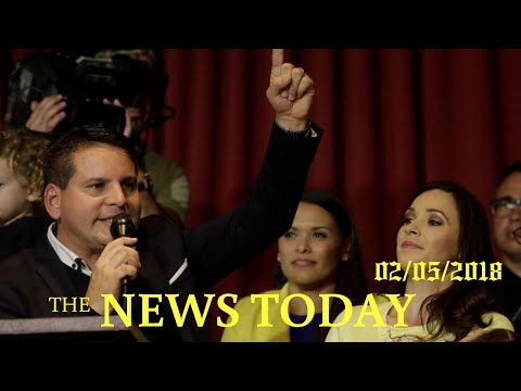 News Today 02/05/2018 | Donald Trump | Evangelical Christian Wins Costa Rica First Round Vote, ...