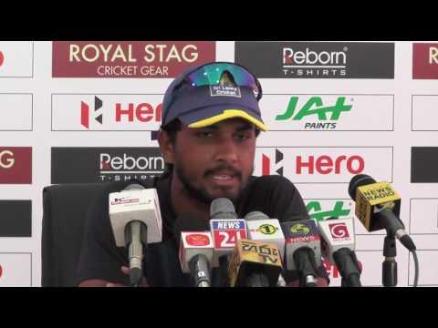 Pre Test Press Conference - Zimbabwe tour of Sri Lanka 2017