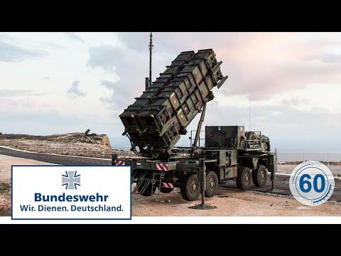 "60 Sekunden Bundeswehr: Flugabwehrraketensystem ""PATRIOT"""