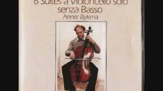 Anner Bylsma; Bach Cello Suite 2, Menuet