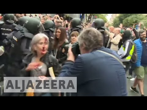 Catalonia referendum: 'Spanish authorities are the criminals'
