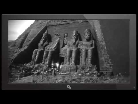 Archive video. Mysterious Lost City