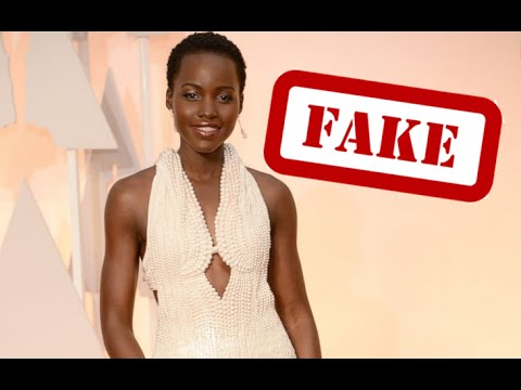 Stolen Pearl-Covered Oscar Dress FAKE!  Thief RETURNS Nyong'o Gown After Finding Pearls Are PLASTIC
