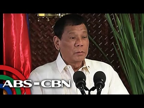 TV Patrol: E.U., simbahan, media, binanatan ni Duterte