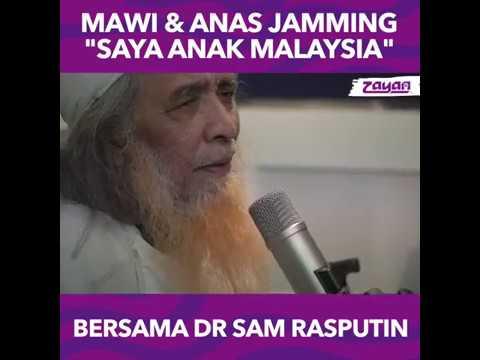 "Mawi, Anas & dR Sam Rasputin Jamming ""Saya Anak Malaysia"