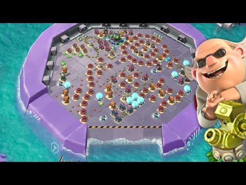 THE END OF PROTO MEGA CRAB IN BOOM BEACH!
