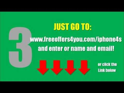 Free iPhone 4S - 3 Ways to Get a Free iPhone 4S