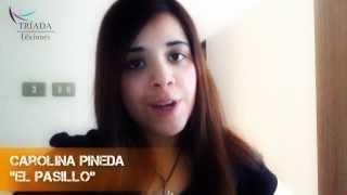Carolina Pineda te invita al lanzamiento de su libro #ElPasillo