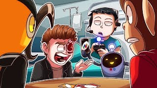NOGLA is better at playing UNO when he is sick and pretending to be a robot!