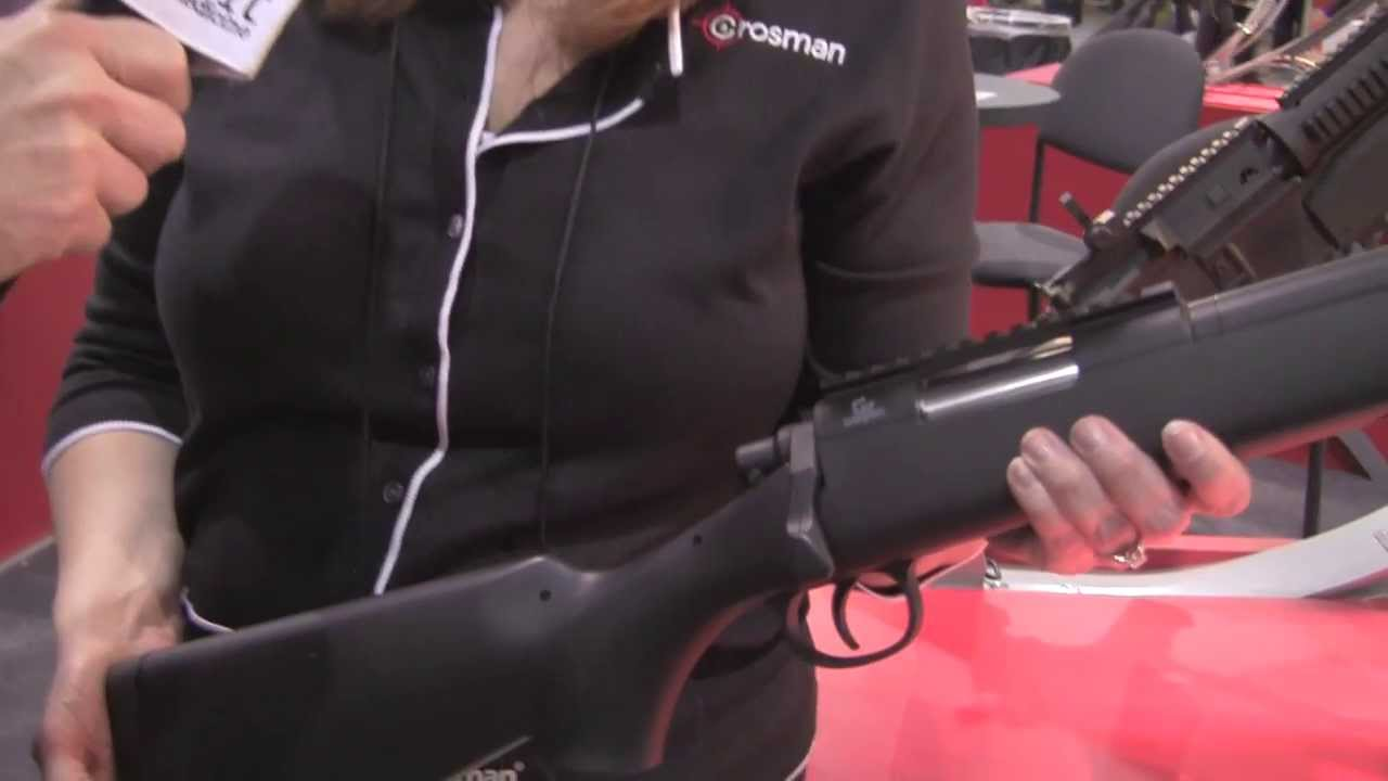 Crosman GameFace GF 529 Sniper Rifle at Shot Show 2014