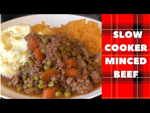 Easy Slow Cooker Minced Beef Recipe & Cook With Me :)