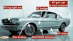 Mustang GT verification (1965 - 1966) - MyRod.com