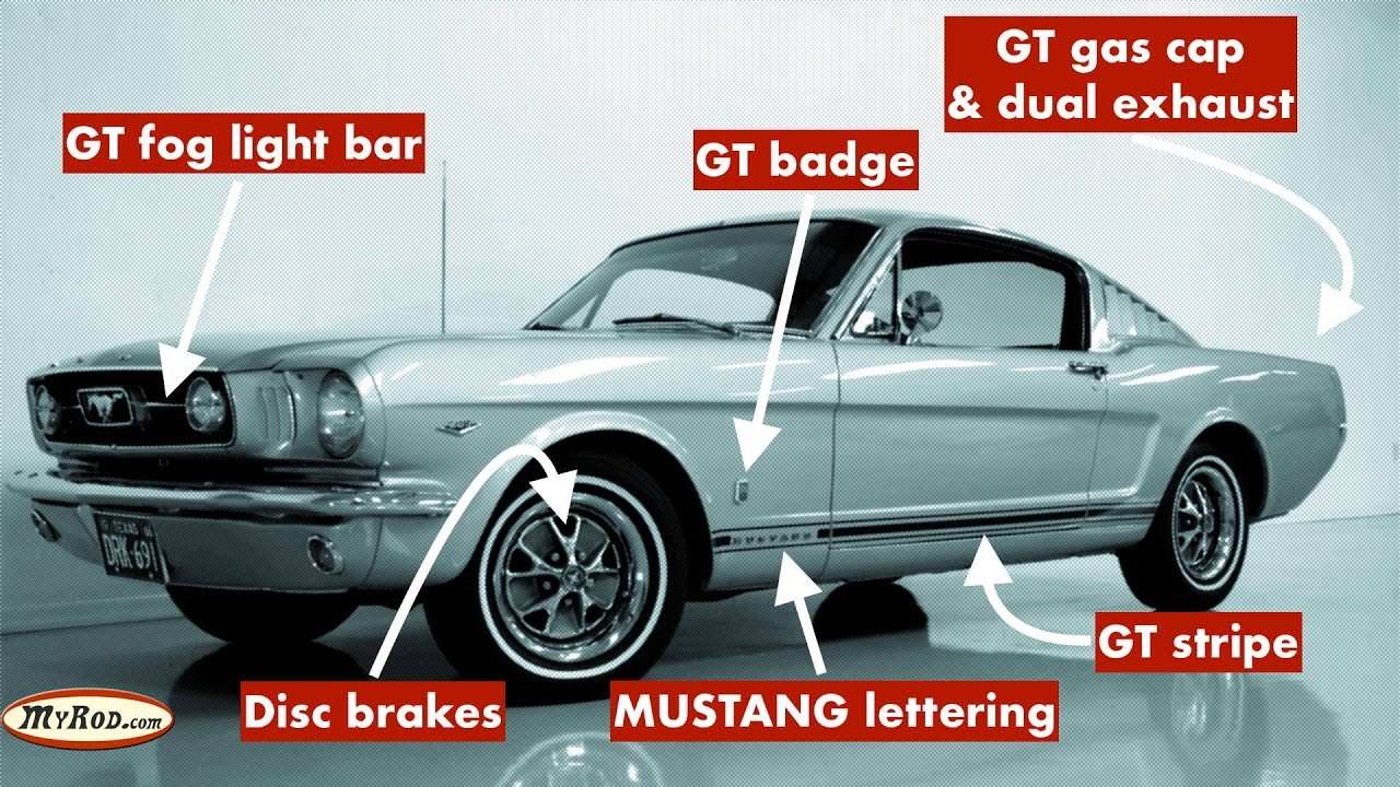Mustang gt verification 1965 1966 myrod com
