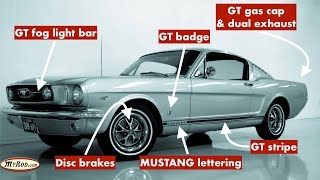 Mustang GT verification (1965 - 1966) - MyRod.com