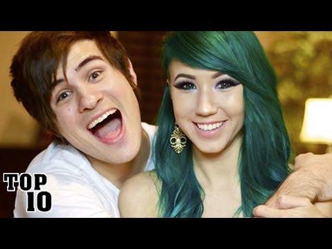 Top 10 Adorable YouTube Couples