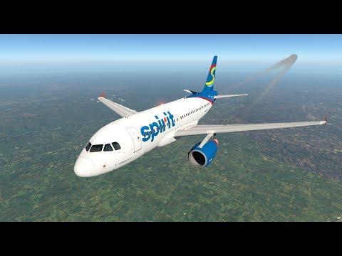 Toliss A319 | X-Plane 11.30 RC3 | Active Sky XP | KCLT - KATL | Vatsim