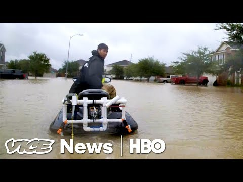 The Harvey Aftershock & Spain's Uber War: VICE News Tonight Full Episode (HBO)