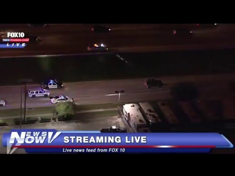 FNN: Houston Car Chase on New Years Eve 2015