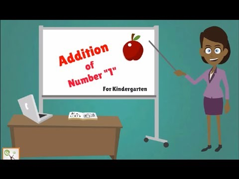 Basic Addition For Children Grade 1 | Maths For Kids, Kindergarten ...