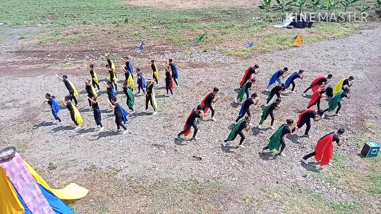 CHAMPION SALUDO (field demo) 2k19 CASISANG SENIOR HIGH SCHOOL!!