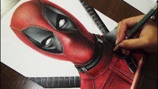 Desenhando o Deadpool (Redrawing) Marvel Comics