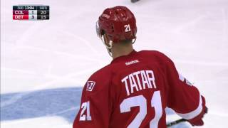 Tatar strikes twice in just over 90 seconds