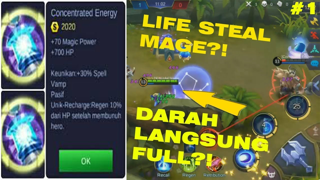 Lifesteal Hero Mage? | Mobile Legend | Buildapahariini #1