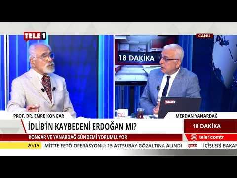18 Dakika - Merdan Yanardağ & Emre Kongar (18 Eylül 2018) | Tele1 TV