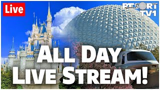 🔴ALL DAY LIVE STREAM - Magic Kingdom & Epcot | 16+ Hour Walt Disney World Live Stream - 12-14-19