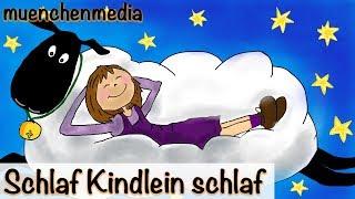 Schlaflied Lullaby deutsch - Schlaf Kindlein schlaf - Kinderlieder zum Mitsingen