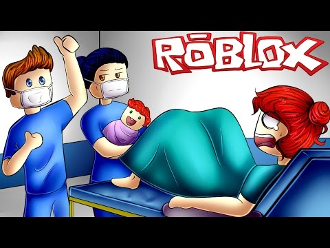 I'M HAVING A BABY WITH AZZYLAND! ROBLOX Hospital Roleplay (ROBLOX Gameplay)