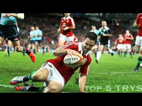 Jonathan Sexton || Top 5 Try's ||