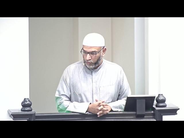 Br. Riyaz Lareef | Khutbah