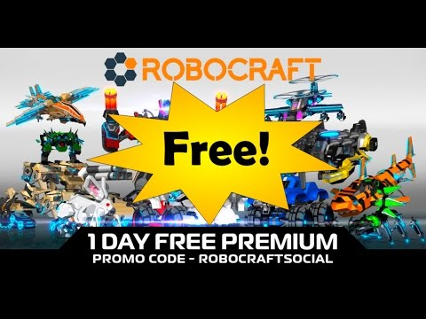 Robocraft: Free Premium Code September 2016 - YouTube