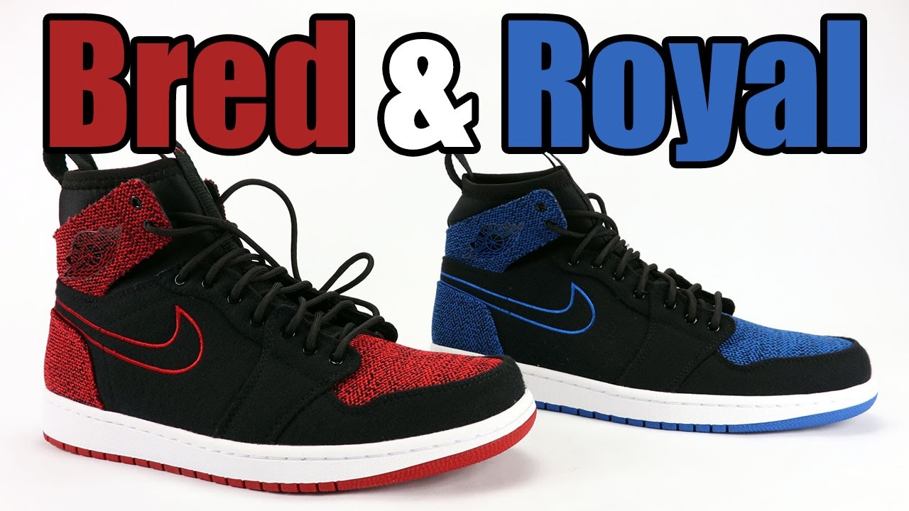 8908b2eb49d9 Air Jordan 1 Ultra High Bred Banned + Royal Blue Review - YouTube
