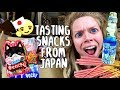 Tasting Cute Candy & Snacks From Japan!