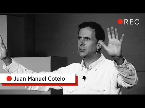 "Juan Manuel Cotelo: ""La mejor historia para contar"""