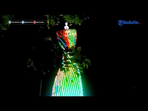 Mirip Menara Dubai Taman Samarendah Diserbu Warga Youtube